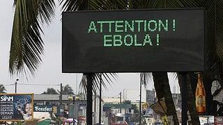 Ebola-Patienten fliehen aus Spital