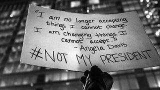 #NotMyPresident – Proteste gegen Trump auch auf Twitter