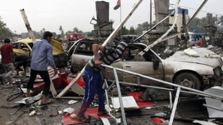 Dutzende Tote und hunderte Verletzte nach Anschlag im Irak