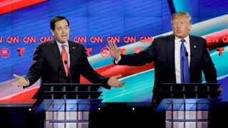 Rubio gibt Trump einen Korb
