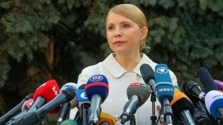 Timoschenko kandidiert für Präsidentenamt