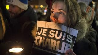 Bilder: Solidarität mit den Opfern von «Charlie Hebdo»