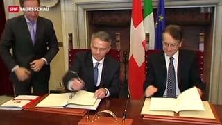 Steuerverhandlungen mit Italien kommen nicht voran