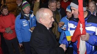 «Öise Ueli» Hinwil empfängt den Bundespräsidenten Ueli Maurer