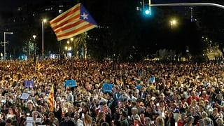 200'000 Katalanen fordern Freilassung von Aktivisten
