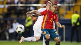 Schweiz ringt Spanien ein Unentschieden ab