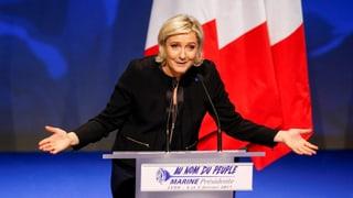 Le Pen wirbt mit «Frexit» und Franzosen zuerst