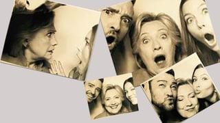 Timberlake, Biel und Clinton: Grimassen für volle Spendenkassen