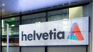 Helvetia: Weniger Standorte, gleich viele Stellen