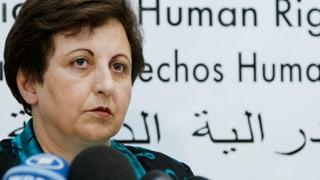 Die Friedensnobelpreisträgerin und Exil-Iranerin Shirin Ebadi sieht in ihrer Heimat eine enttäuschte Generation.
