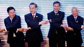Asiens Kontrahenten zeigen sich im Inselstreit versöhnlich