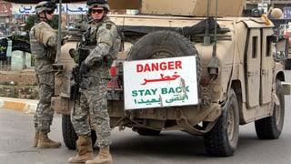 US-Militärberater treffen im Irak ein