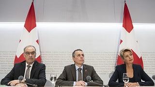Cussegl federal pretenda scleriments da l'UE