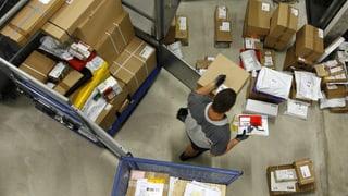 Paketzentren wegen «Black Friday» am Anschlag