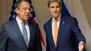Syrien-Konflikt: Russland und USA wollen wieder reden