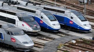 Frankreich bremst den TGV aus