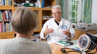 Wie spreche ich mit meinem Arzt?