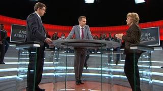 «Arena» – drei Duelle zum harten Franken