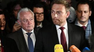Nach vierwöchigen Gesprächen hat die FDP die Verhandlungen überraschend abgebrochen. Lesen Sie hier, wie sie dies begründet hat.