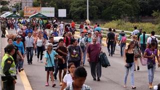 Venezolans fan cumpras en la Columbia