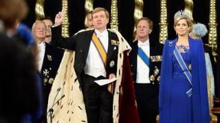 Inthronisierung: Willem-Alexander leistet seinen Eid
