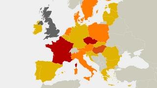 Welche EU-Staaten dem Austritt Grossbritanniens folgen könnten