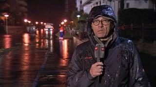 Wenn Journalisten im Regen stehen