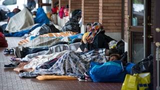 «Zwei Drittel der Gestrandeten wollen weiter nach Deutschland»