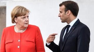 Macron stärkt Merkel bei der Asylpolitik den Rücken