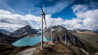 Mit Wind liesse sich mehr Strom machen