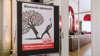 Wirtschaftsverbände machen gegen SVP-Initiative mobil