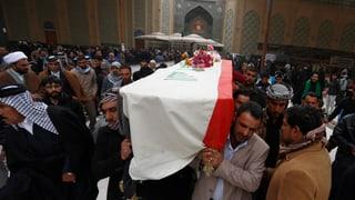 Räumung eines irakischen Protestcamps fordert Tote