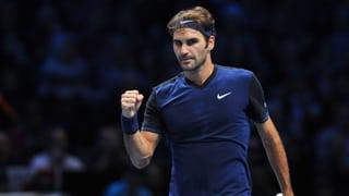 So schlug Federer seinen Landsmann und zog in den Final ein