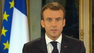 Macron macht Konzessionen an die «Gelbwesten»