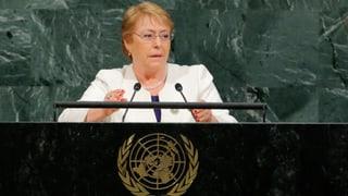 Bachelet soll Kommissarin für Menschenrechte werden