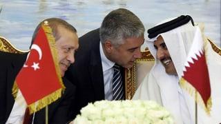 Türkei verstärkt Truppen in Katar