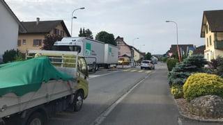 14'000 Fahrzeuge pro Tag: Schafisheim wehrt sich gegen Verkehr