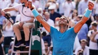 Furioser Nadal verteidigt den Thron in Roland Garros