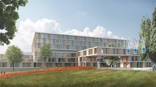 Das neue Spital soll heller und flexibler werden