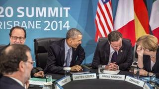 G20-Gipfel: Wirtschaft ankurbeln, Klimaschutz vorantreiben