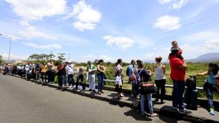 Hunger und Gewalt treiben Venezolaner ins Ausland
