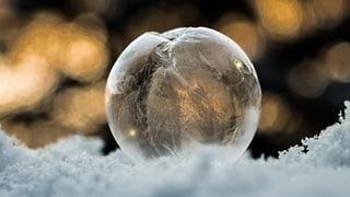 Schon mal gesehen, wie eine Seifenblase gefriert? (Artikel enthält Video)