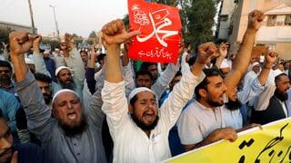 Radikale Islamisten in Pakistan beruhigen sich nicht