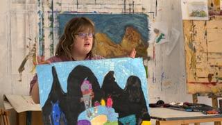 Ein Freiraum für Künstler mit Behinderung (Artikel enthält Video)