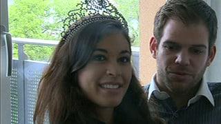 Die neue Miss Earth Schweiz und ihr Freund im Liebes-Talk