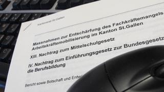 St.Gallen will 2017 eine Informatik-Mittelschule einführen