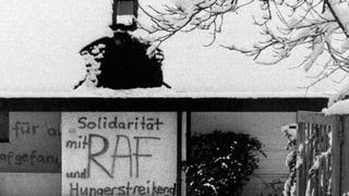 Auch in der Schweiz gab es während der 1970er-Jahren gewaltbereite RAF-Sympathisanten