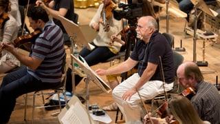 Der Maestro als Lehrer – im Dirigierkurs bei David Zinman