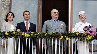 Ganz in Weiss: Königin Margrethe startet ihren Geburimarathon