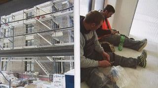 Ausbeutung in der Baubranche (Artikel enthält Video)